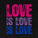 Bisexual Love is Love is Love T-Shirt
