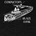 Trains Blaze a Rail Train Lover T-Shirt