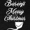 Basenji Merry Christmas Dog Xmas T-Shirt