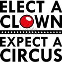 Elect A Clown T-Shirt