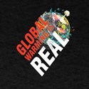 Global Warming Is Real Environment Awarene T-Shirt