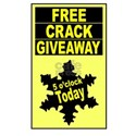 5 o'clock free crack giveaway Ash Grey T-Shirt