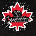 Oh Canada Funny Maple Leaf Flag Gift for C T-Shirt
