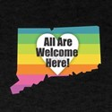 Connecticut - All Are Welcome Here T-Shirt