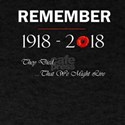 World War 1 Remember 1918 2018 Centennial T-Shirt