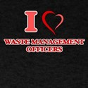 I love Waste Management Officers T-Shirt