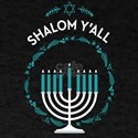 Shalom Y'all Hanukkah Menorah T-Shirt