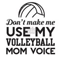 Volleyball Mom Voice T-Shirt