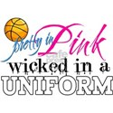 Pretty In Pink Basketball