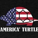 American Turtle Flag Memorial Day USA T-Shirt