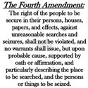 Fourth Amendment White T-Shirt