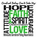 Cerebral Palsy Can'tTakeHope Women's T-Shirt