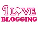 I Love Blogging T-Shirt