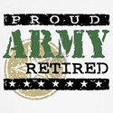 Proud Army Retired Baseball Jersey