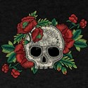Skull And Poppies Faux T-Shirt