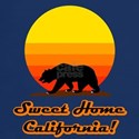 Sweet Home California Navy Blue T-Shirt