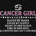 Cancer Girl Hated By Many Loved By Plenty T-Shirt