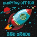 Blast Off For 3rd Grade T-Shirt