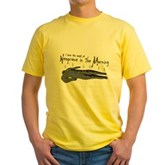 Neoprene in the Morning Yellow T-Shirt