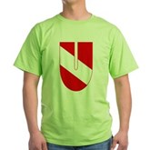 Scuba Flag Letter U Green T-Shirt