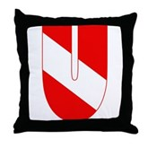 Scuba Flag Letter U Throw Pillow