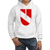 Scuba Flag Letter U Hooded Sweatshirt