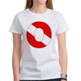 Scuba Flag Letter O Women's T-Shirt