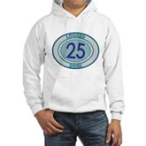 25 Logged Dives Hooded Sweatshirt