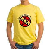 Wiccan of the Sea Yellow T-Shirt