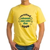 Certified AOW 2008 Yellow T-Shirt