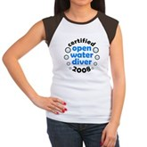 Open Water Diver 2008 Women's Cap Sleeve T-Shirt
