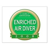 Certified Nitrox Diver 2008 Small Poster