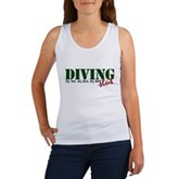 Diving Slut Women's Tank Top