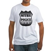 Scuba Police Fitted T-Shirt