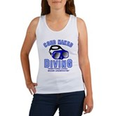 Coed Naked Diving Women's Tank Top
