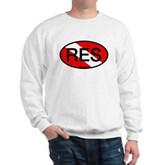 RES Oval Scuba Flag Sweatshirt