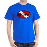BOW Oval Dive Flag Dark T-Shirt