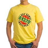 Vintage Koh Samui 84320 Yellow T-Shirt