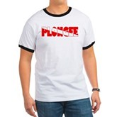 Plongee French Scuba Flag Ringer T