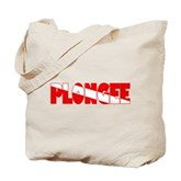 Plongee French Scuba Flag Tote Bag