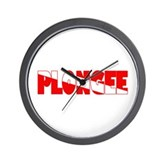 Plongee French Scuba Flag Wall Clock