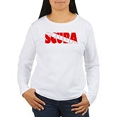 Scuba Text Flag Women's Long Sleeve T-Shirt