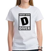 Rated D: Diver Women's T-Shirt