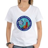 Take Only Memories (fish) Women's V-Neck T-Shirt