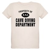 Cave Diving Department Organic Kids T-Shirt