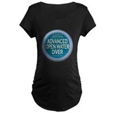Certified AOWD Maternity Dark T-Shirt