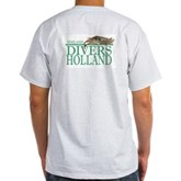 Zeeland Divers Holland Ash Grey T-Shirt