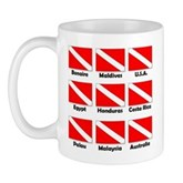 Dive Flags of the World Mug