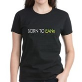 Born to EANx Nitrox Scuba Diver Women's Dark Tee