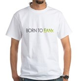 Born to EANx Nitrox Scuba Diver White T-Shirt